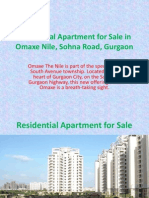 aurumestates.com Residential Apartment for Sale in Omaxe Nile, Sohna Road, Gurgaon