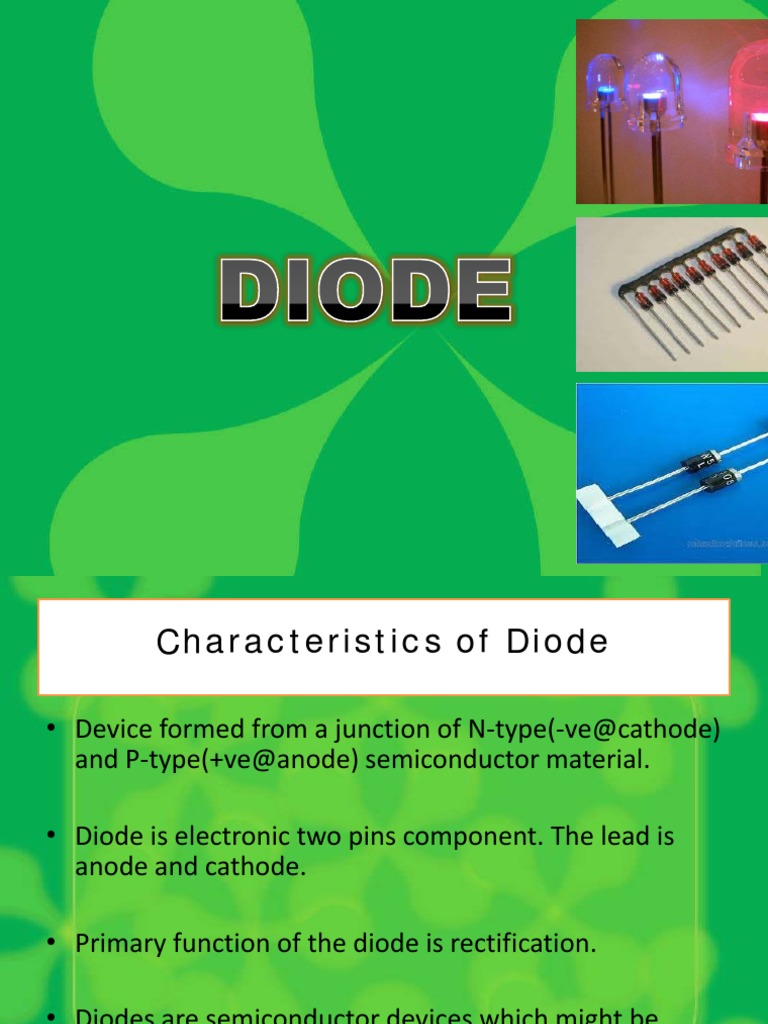 Diode Semiconductor Devices Rectifier Simple Voltage Indicator By Led And Zener