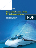 Coaxial Cables for Railway Application