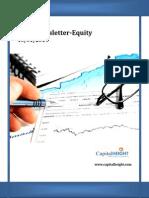 Indian Equity Market Newsletter 16-01-2014
