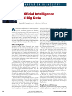 Artificial Intelligance and Big Data
