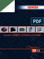 Catalog Gewiss - Domotics 2012 - Gamele Chorus System Combi