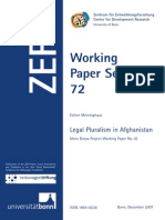 Legal Pluralism in Afghanistan