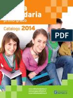 Testi per la Scuola Secondaria - Catalogo 2014