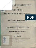 Plaut, R - Flavius Josephus Und Die Bibel