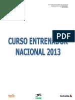 Curso Nacional 2013_Convocatoria