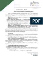 Moldova - Acord Bilateral 2013-2014 Comunicat