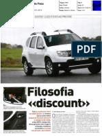 NOVO DACIA DUSTER 1.5 dCi 4X2 NA AUTO FOCO