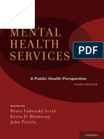 Mental Health Financing