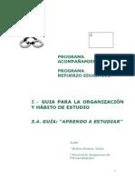 07.Prog Refuerzo Aprendo a Estudiar