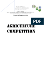Agriculture Contest Mechanics