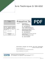 Avis Precoffre TH01