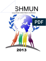SISHMUN 2013 Registration Form