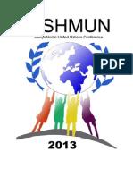 SISHMUN 2013 Registration Form