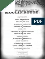 # Moulin Rouge (Score Book)