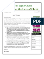 Discover the Love of Christ January 2014