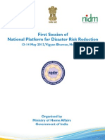 First Session of NPDRR