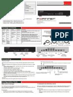 FortiGate 80C LENC QuickStart