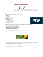 General Electronics Projects for Engineering Students