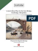 Conservation Management Plan for the Iron Bridge, Ironbridge, Shropshire, UK
