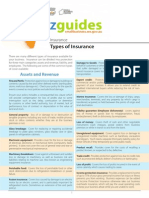 Bizguide Types of Insurance