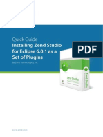 Installing Zend Studio for Eclipse