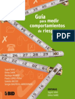 A Toolkit for the Measurement of Youth Risk BehaviorGuia Para Medir Comportamientos de Riesgo en Jov
