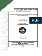 Laporan konjal Penetrasi Aspal.doc