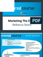 Nov Dip - Marketing the Event