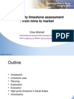 High PurityLimestone Applications
