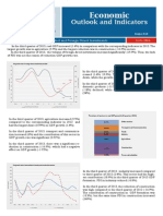 Economic Outlook and Indicators - Gross Domestic Product and Foreign Direct Investments - III Quarter 2013