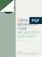 Certification Preparation Guide Virtualization Foundation