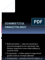 DIAGNOSTICUL PARAZITOLOGIC