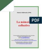Maurice Halbwachs, La mémoire collective