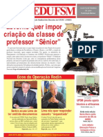 Jornal SEDUFSM de Agosto e Setembro 2009