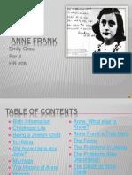 Emily Grau Anne Frank