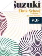 Metodo Suzuki Per Flauto Volume 2b