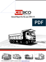 Cebbco Annual Report 2013