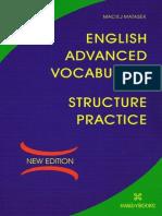 English Advanced Vocabulary