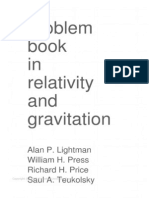 problem book in relativity