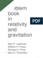problem book in relativity