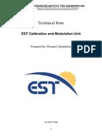 EST Calibration and Modulation Unit