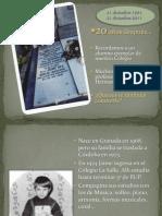 Reflexión Hno. Jaime Cea