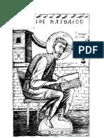 St. Matthew Coloring Page PDF