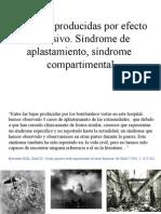 10- Lesiones producidas por efecto explosivo. Síndrome de aplastamiento.ppt copia