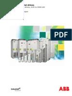 Katalog pretvarača ABB ACS800