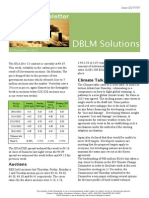 DBLM Solutions Carbon Newsletter 27 Nov