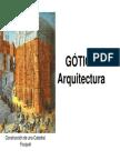 Arquitectura Escultura Pintura Gotica