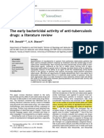 The Early Bactericidal Activity of Anti-tuberculosis Drugs