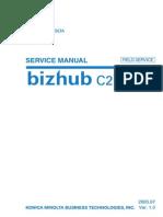 c250 Service Manual Field Service Dd4038pe1-0800 Draft 050623